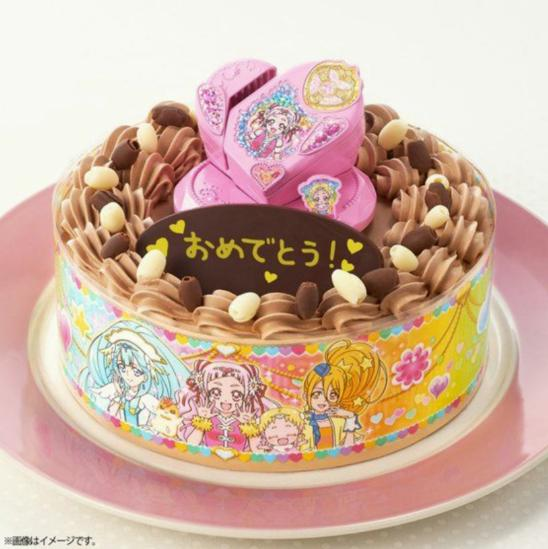 HUGっと!プリキュアの誕生日やクリスマスのケーキ!売ってる店や予約に価格は?