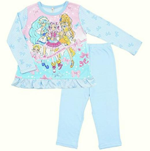 HUGっと!プリキュアのパジャマの種類や価格を紹介!