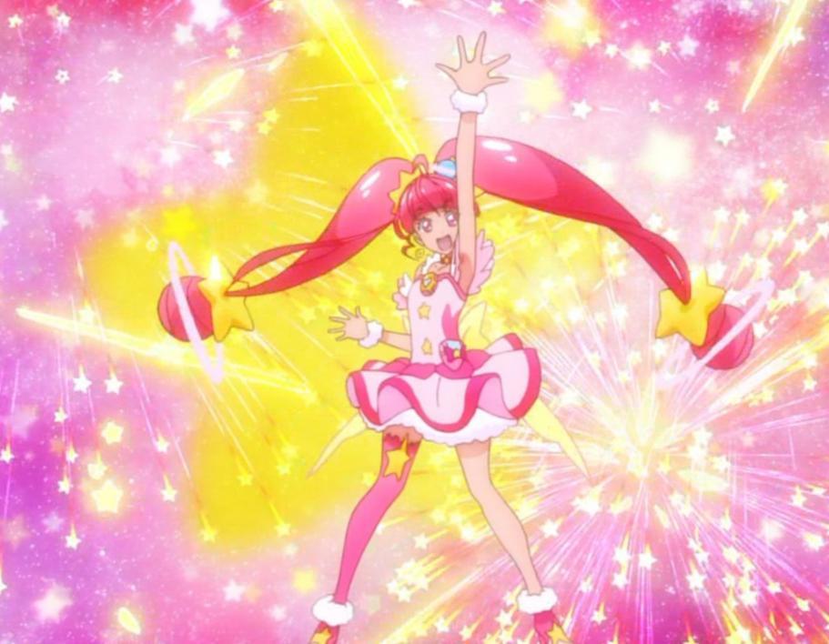 スター☆トゥインクルプリキュアの変身中の曲や歌詞!変身ポーズやダンスの振り付け!【動画】